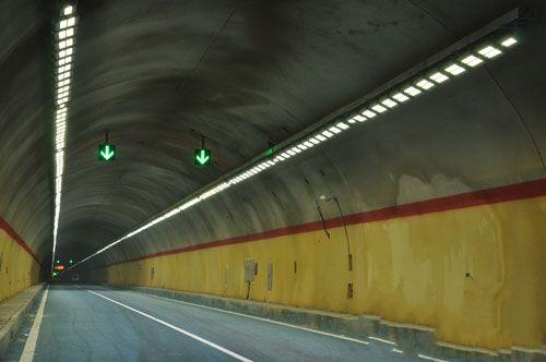 赣最长公路隧道照明工程竣工全部使用led产品